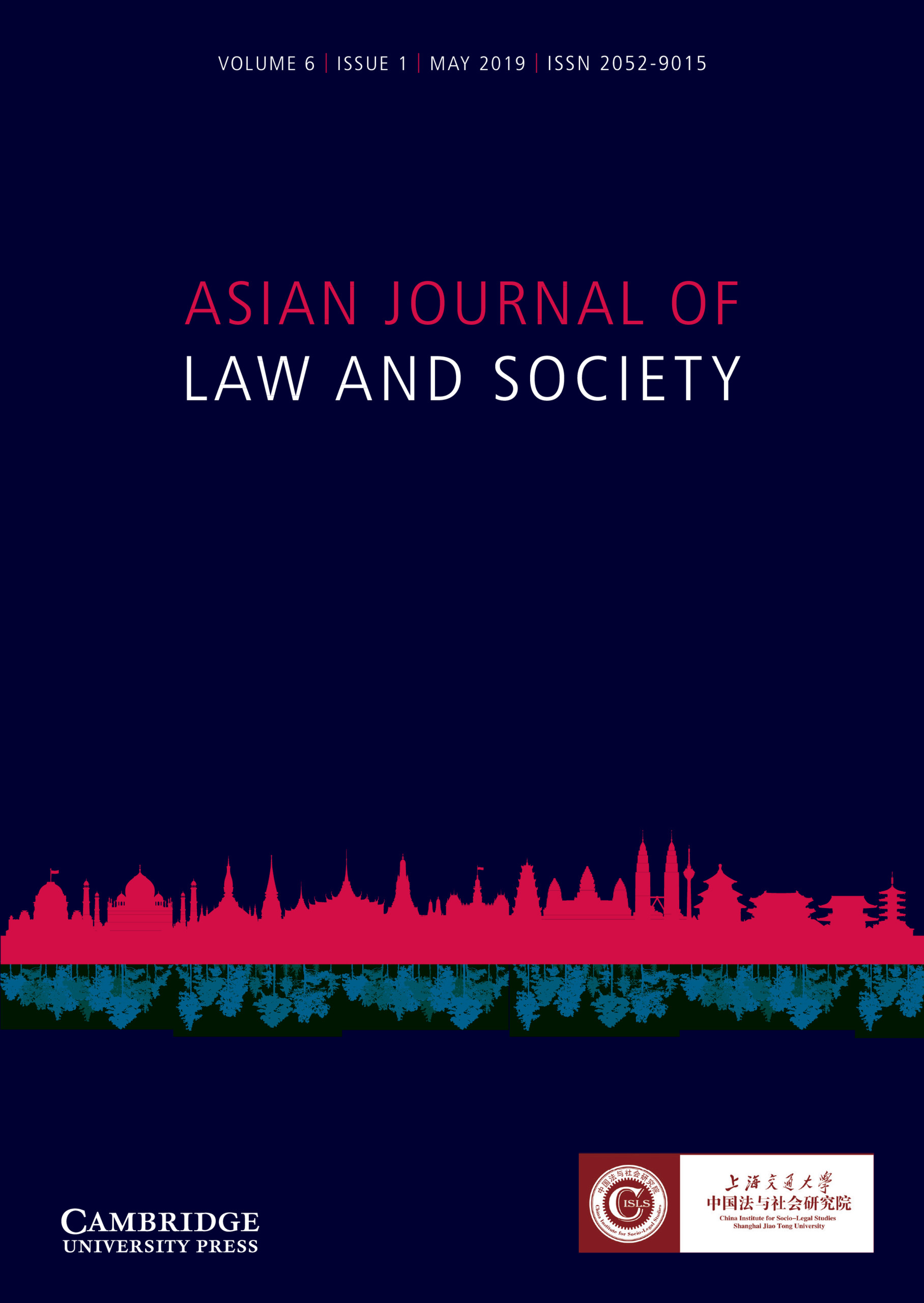 Asian Journal of  Law and Society