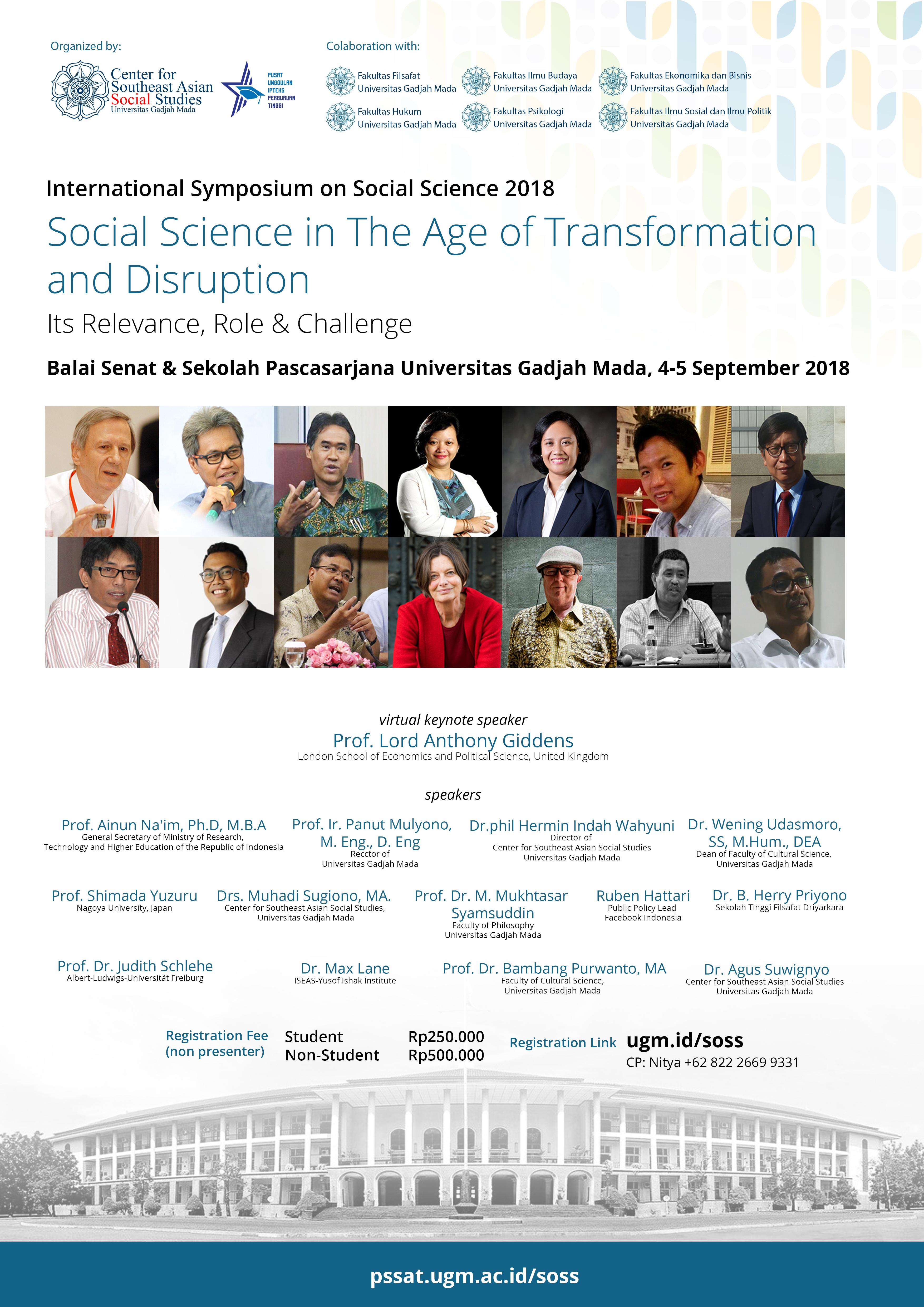 international symposium on social science 2018