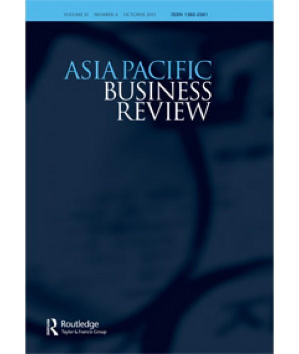 Asia Pacific Review - Rüland, Jürgen