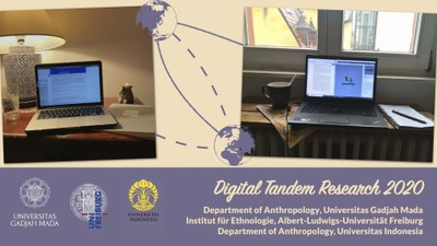 """Digital tandem research: """"Witnessing Corona among Indonesian and German Youth"""""""