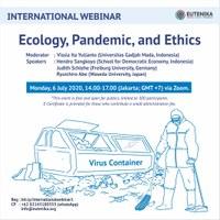 Indonesian-based Webinar on 'Ecology, Pandemic, and Ethics'