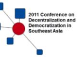 "Conference Report: ""Decentralization and Democratization in Southeast Asia"" (Freiburg, 15-17 June 2011)"