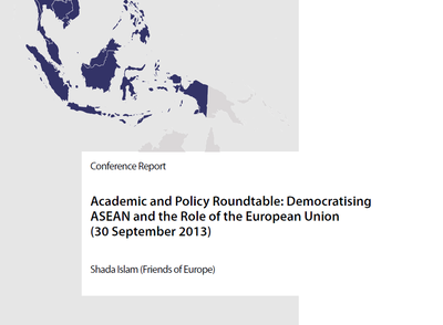 Conference Report on the BMBF Academic and Policy Roundtable  2013