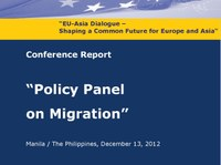Report: Stefan Rother at the EU-Asia Dialogue Policy Panel on Migration