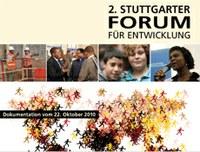 """Stefan Rother in the documentation on """"2. Stuttgarter Forum für Entwicklung"""""""